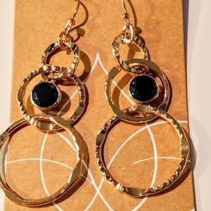 Circle Dangling Earrings New